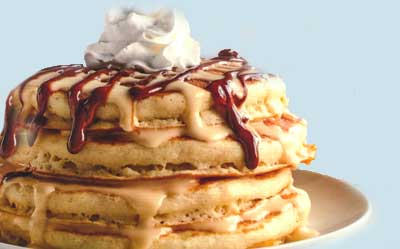 Mexican Tres Leches pancakes